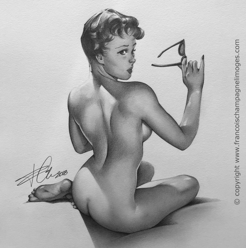 Gil_Elvgren_Study_Close-Up_w_copyright